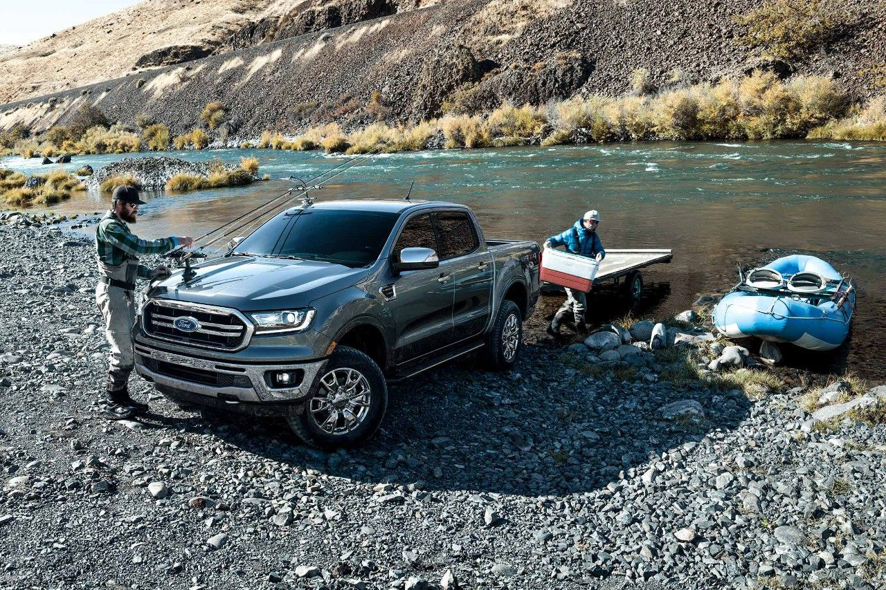 2019 Ranger near lake