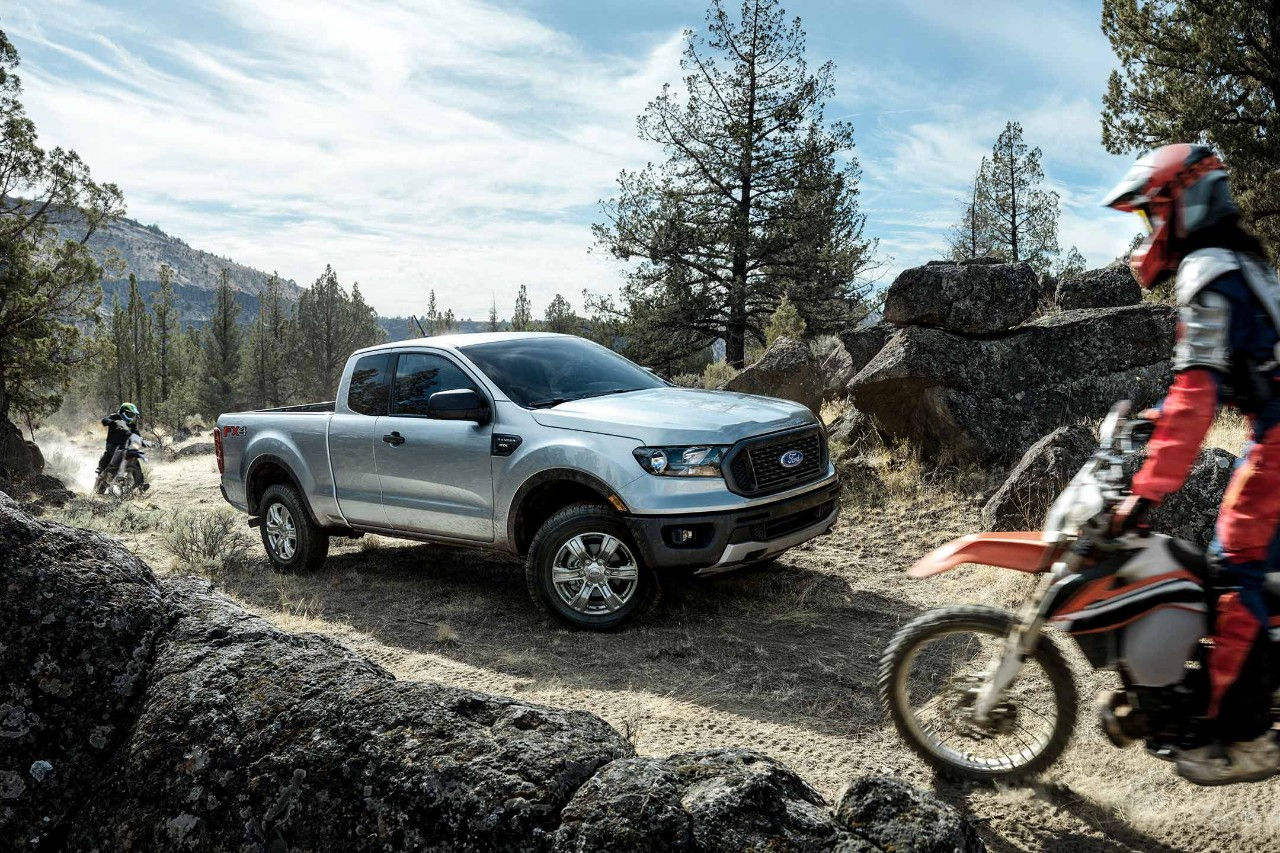 The 2019 Ford Ranger off-road