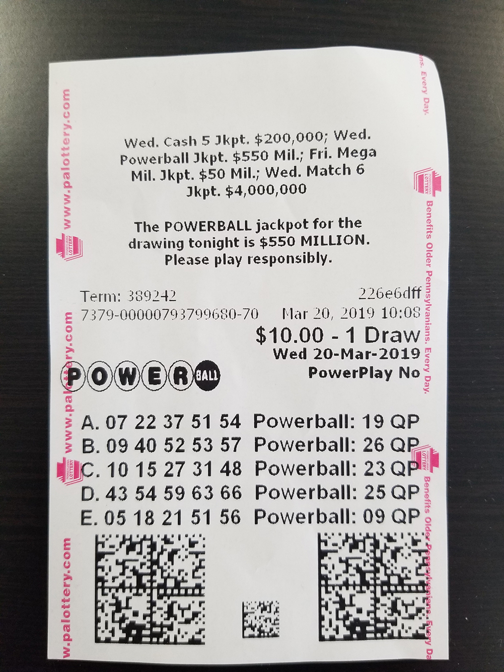 Pa Lottery Ticket Give Away