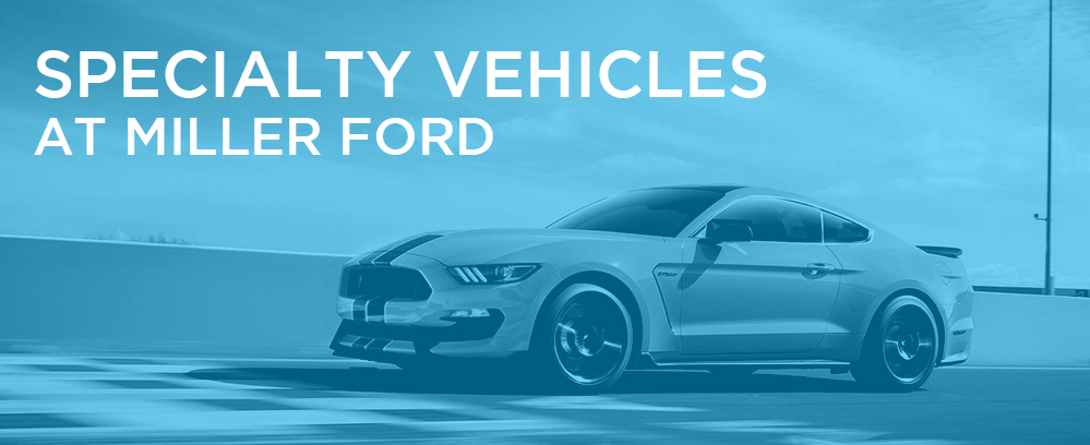 Specialty Vehicles at Miller Ford in Lumberton