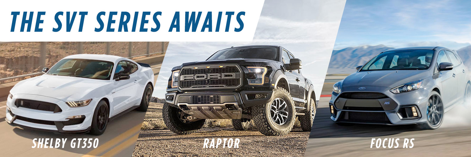 Shop the Ford SVT Performance Series in Wilkes-Barre
