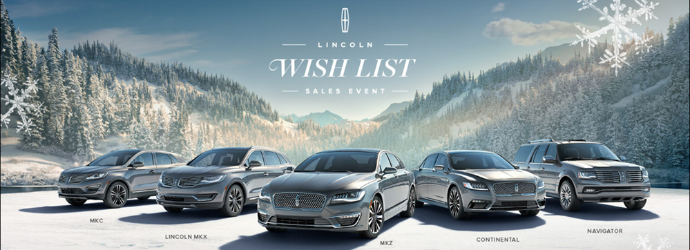 Lincoln Wish List Sale 2017