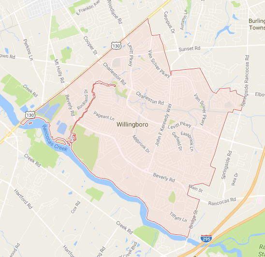 location of dealership in Willingboro nj