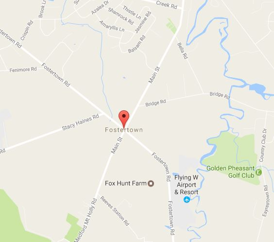 location of dealership in Fostertown nj