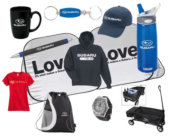 subaru gear and apparel