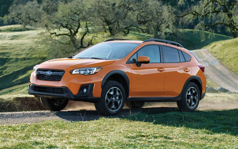 2019 Subaru Crossteek orange