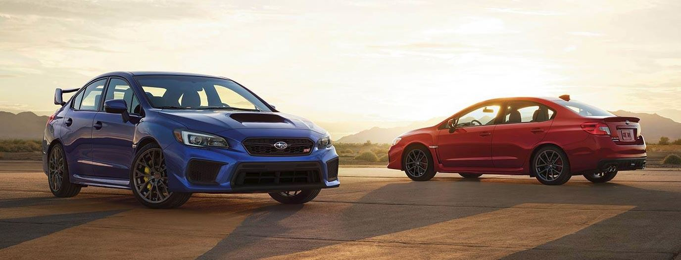 2019 WRX subaru red blue