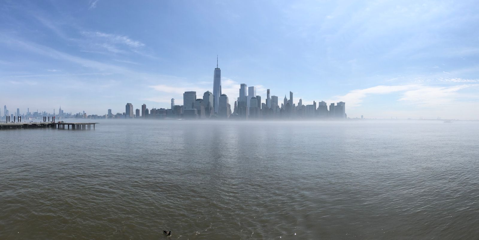 Manhattan from Jersey City Waterfront; July 2019