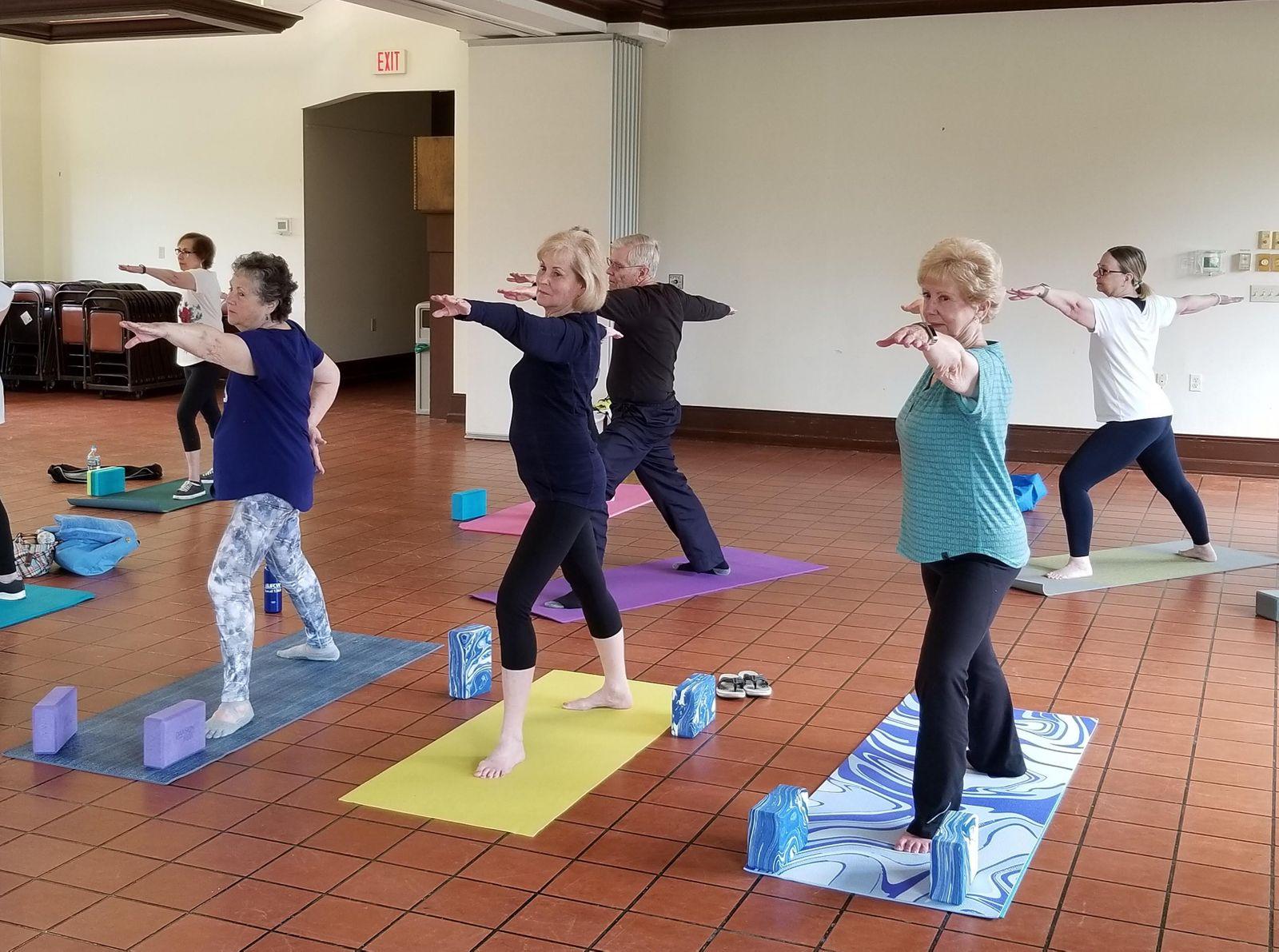 Evesham Senior Yoga Class