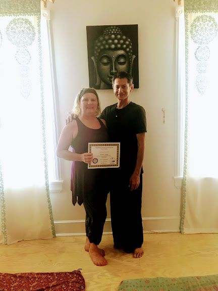 Maria with David Roma ~ Thai Yoga Massage