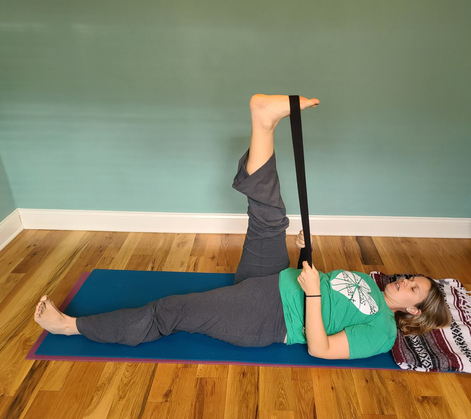 Hamstring- extending your reach
