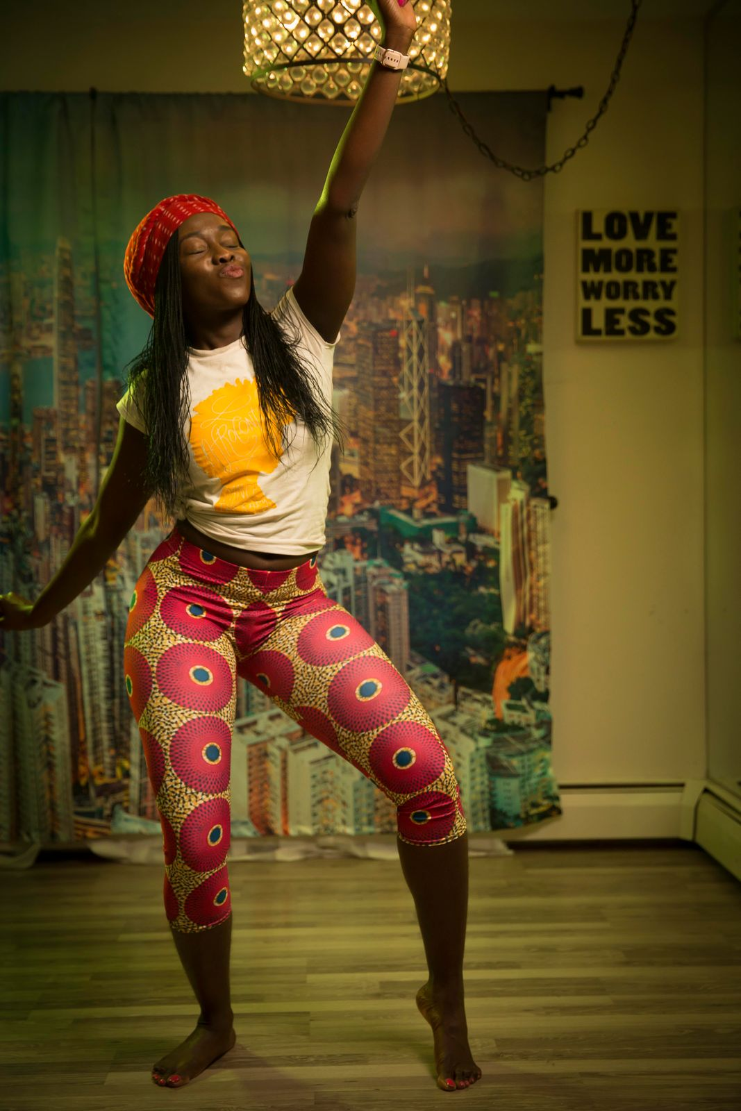 Pants in the picture are from: https://www.ruvaafricwear.com/ . Use code AFROCONTIGBO for a discount