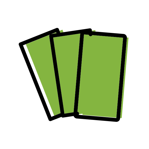 Cards Green