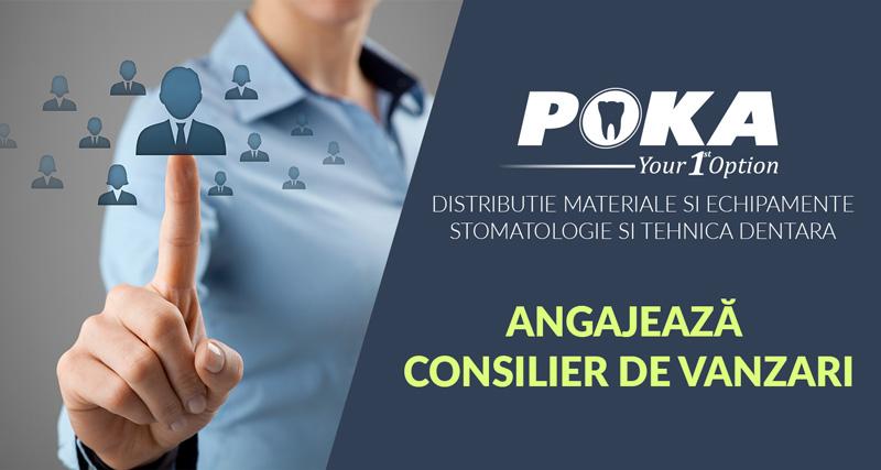 POKA Timisoara, Banner anunt angajare (2)