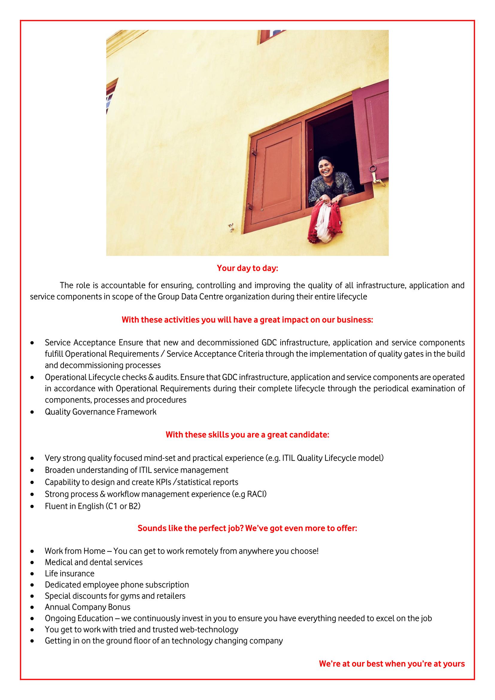 QA Specialist Operational Compliance -1