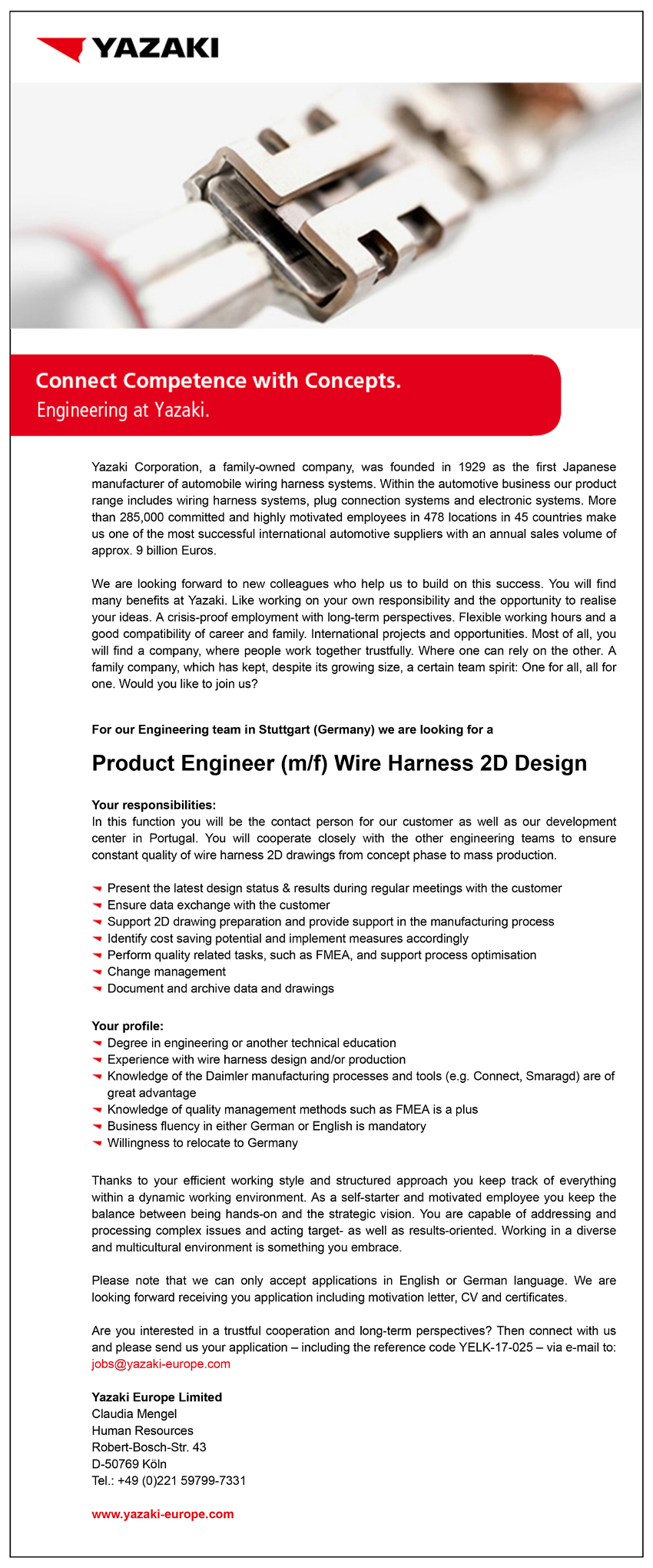 Wire Harness Engineer Jobs cable embly wire and cable ... on speedometer design, gas tank design, cable design, radiator design, computer design, antenna design, manifold design, generator design, exhaust design, motor design, seat design, spark plug design, remote control design, pump design, gauge design, bracket design, fan design, intercooler design, frame design, suspension design,