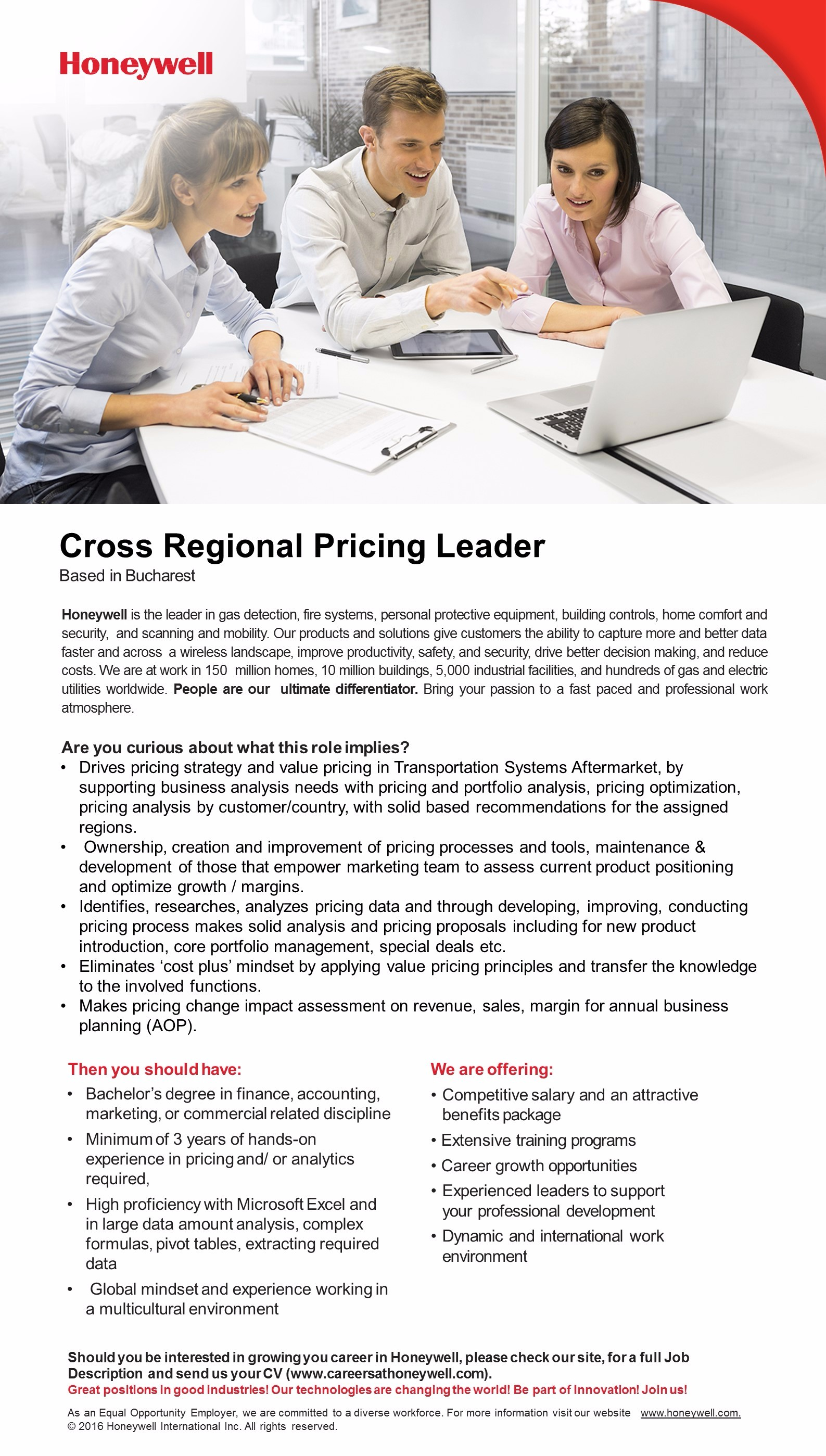 cross regional pricing leader