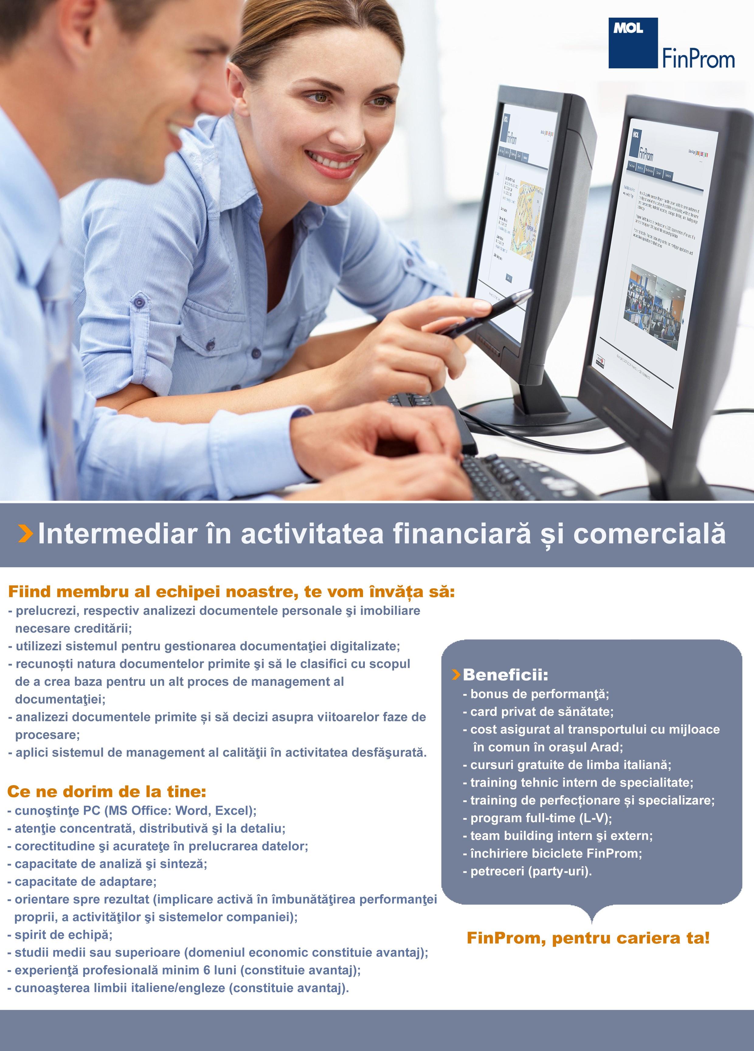 Intermediar in activitatea financiara_ Nou