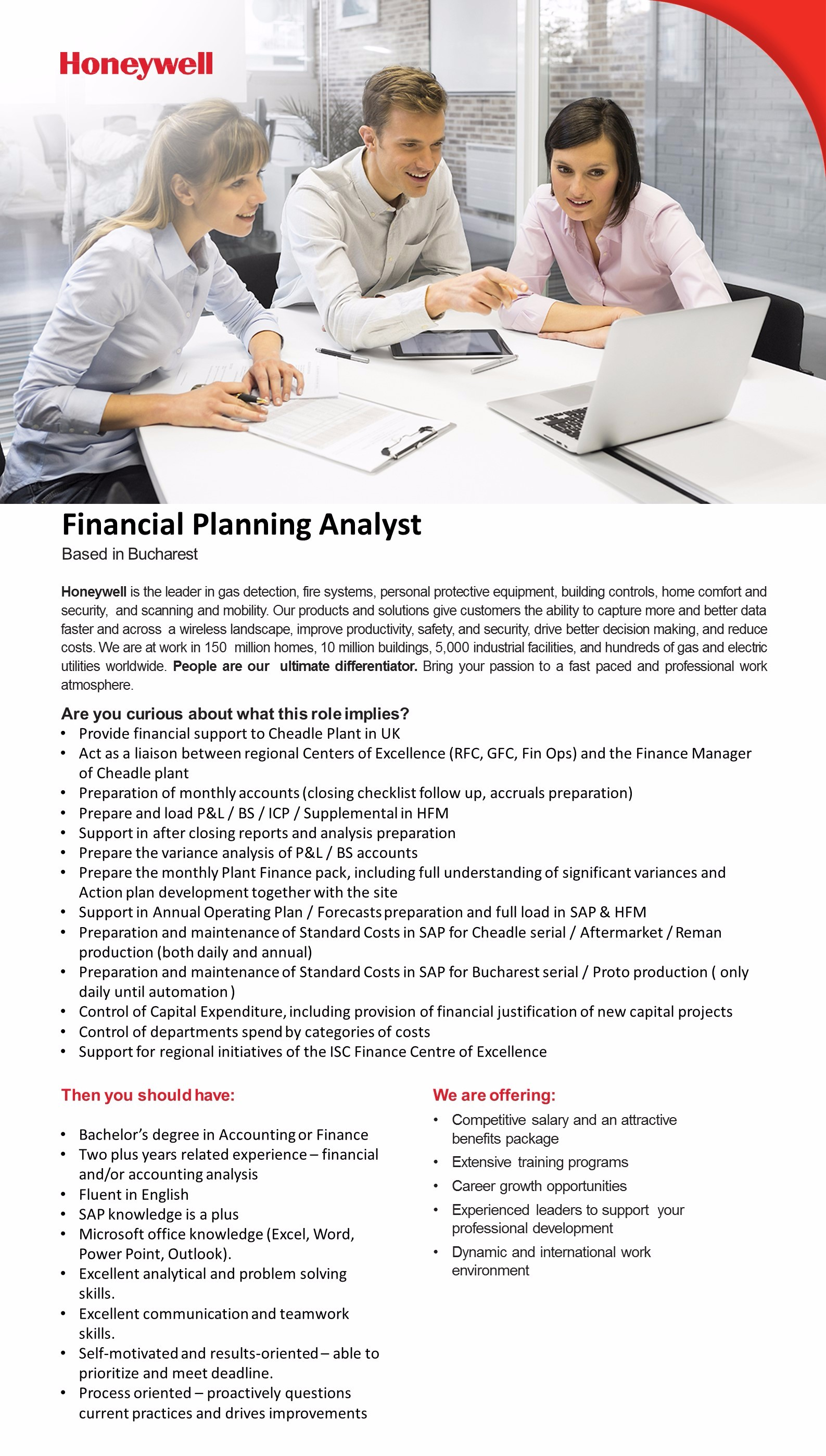 Financial Planning Analyst