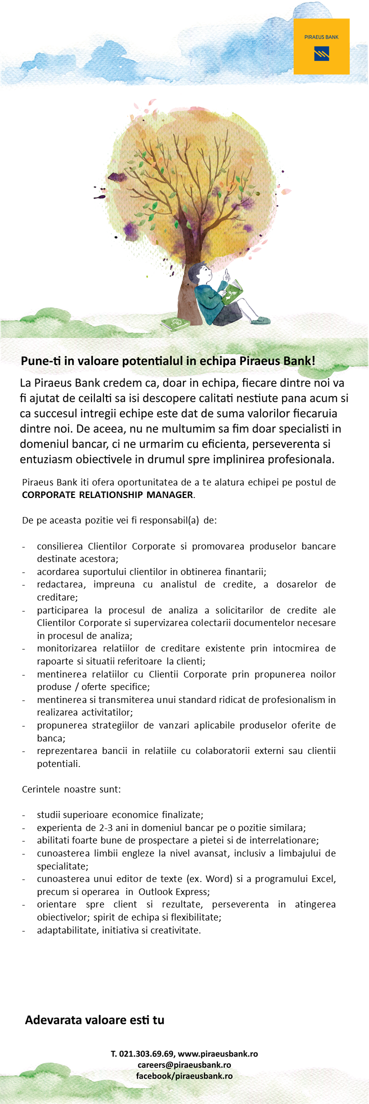 CORPORATE RELATIONSHIP MANAGER