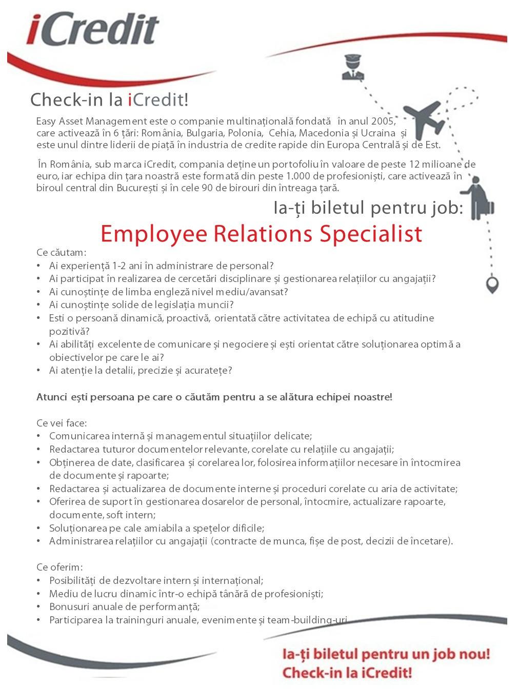 JD HR Employee Specialist