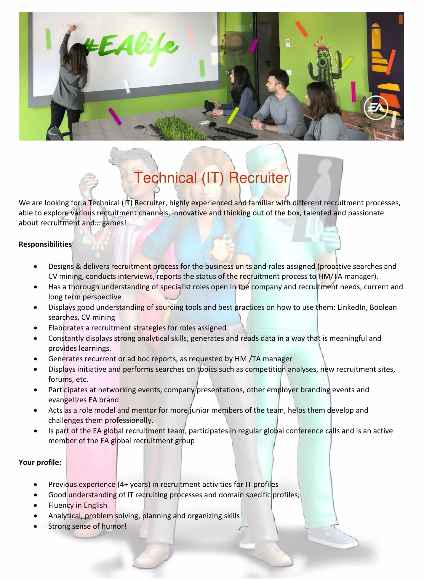 Technical IT Recruiter-1