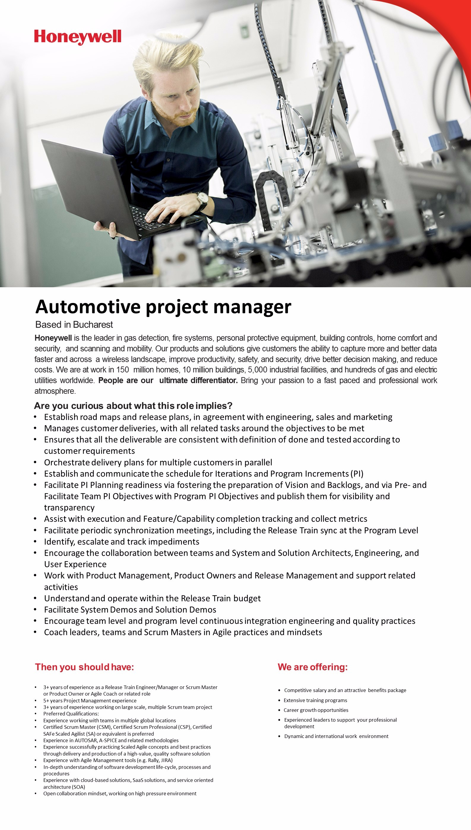 Automotive project manager