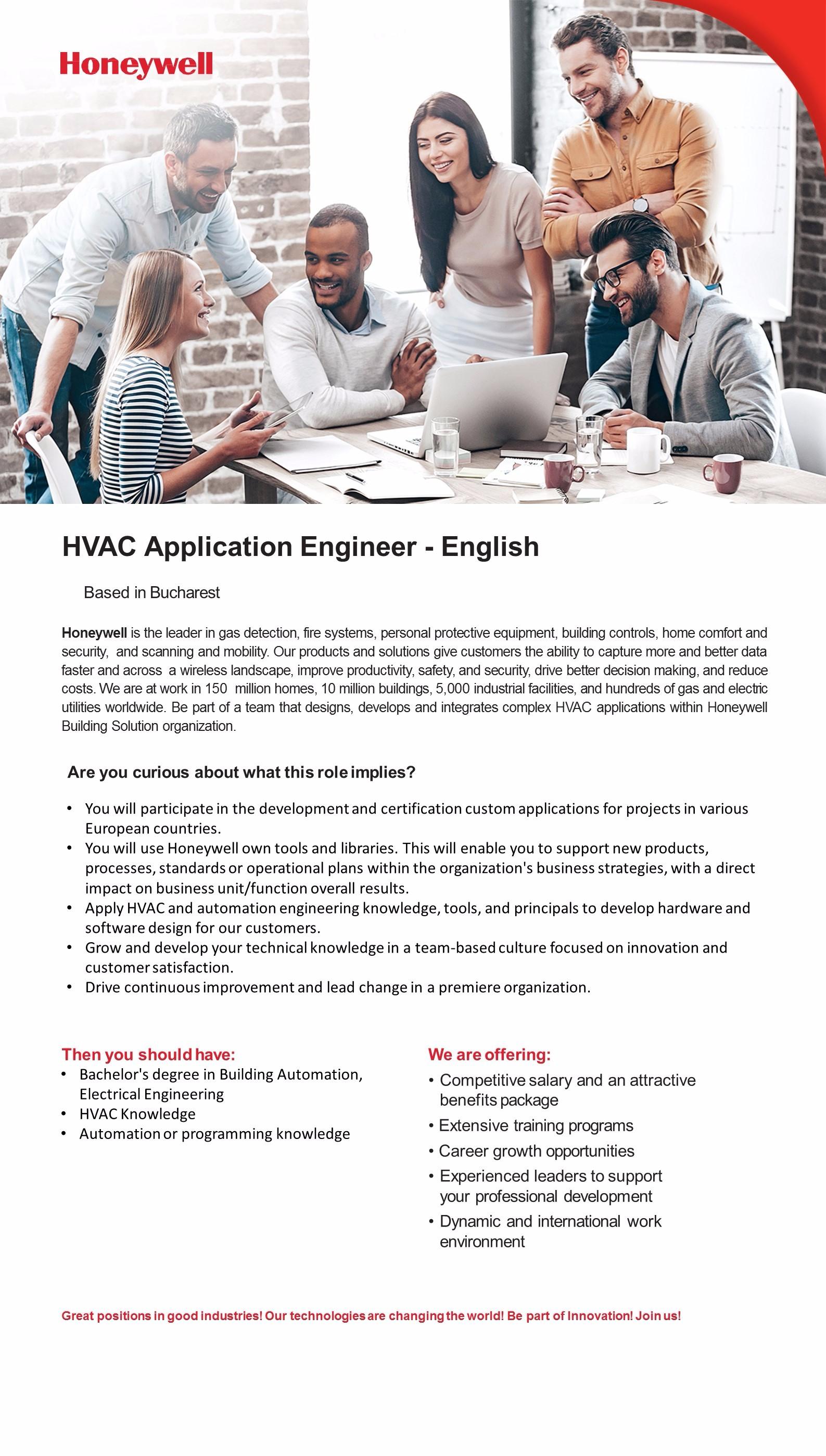 HVAC Application Engineer