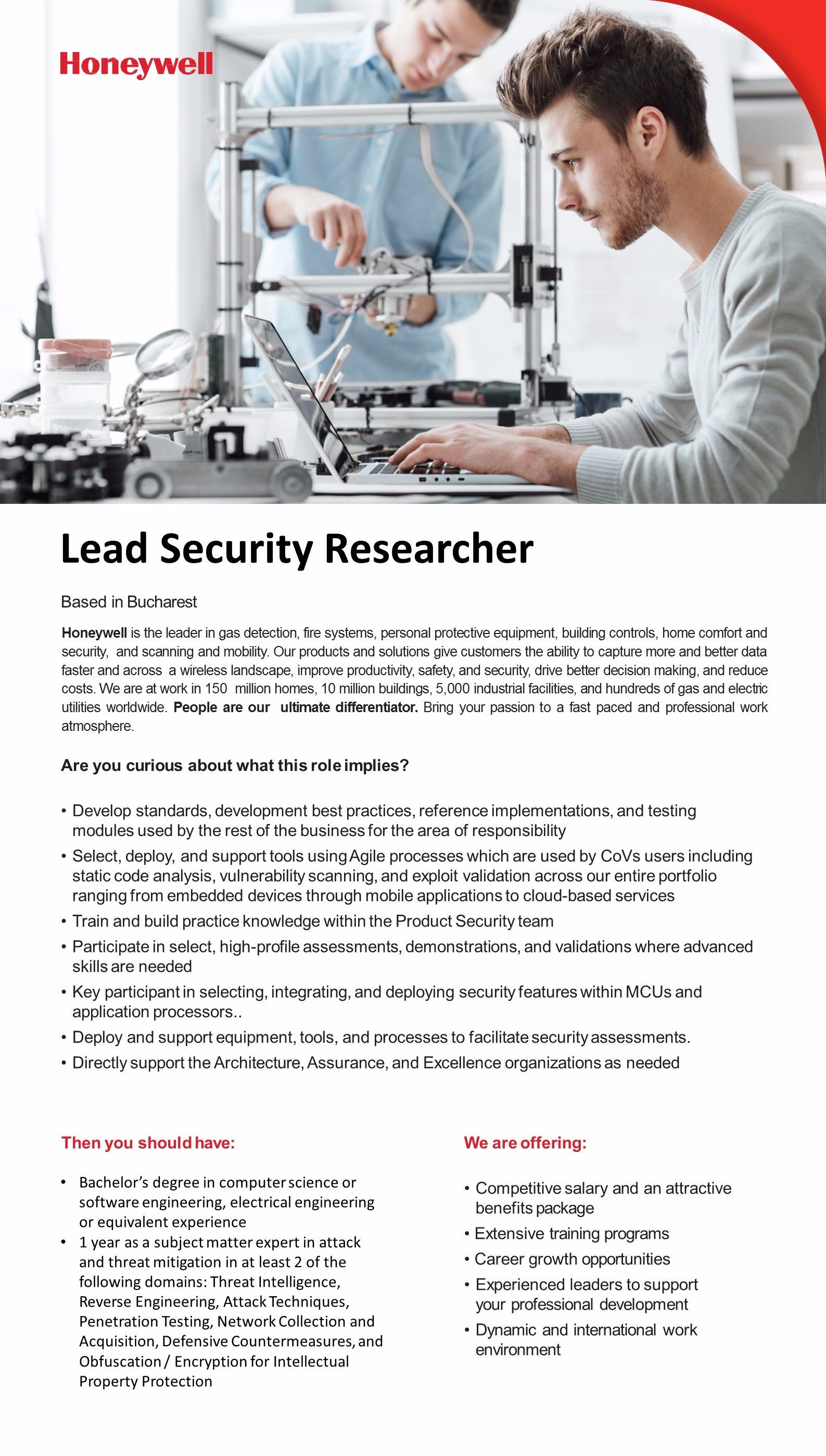 lead security researcher