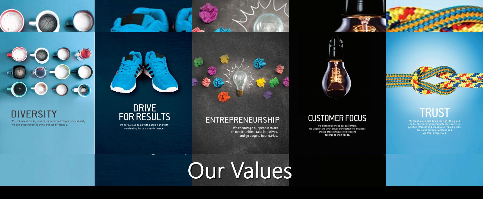 Printec Group Values