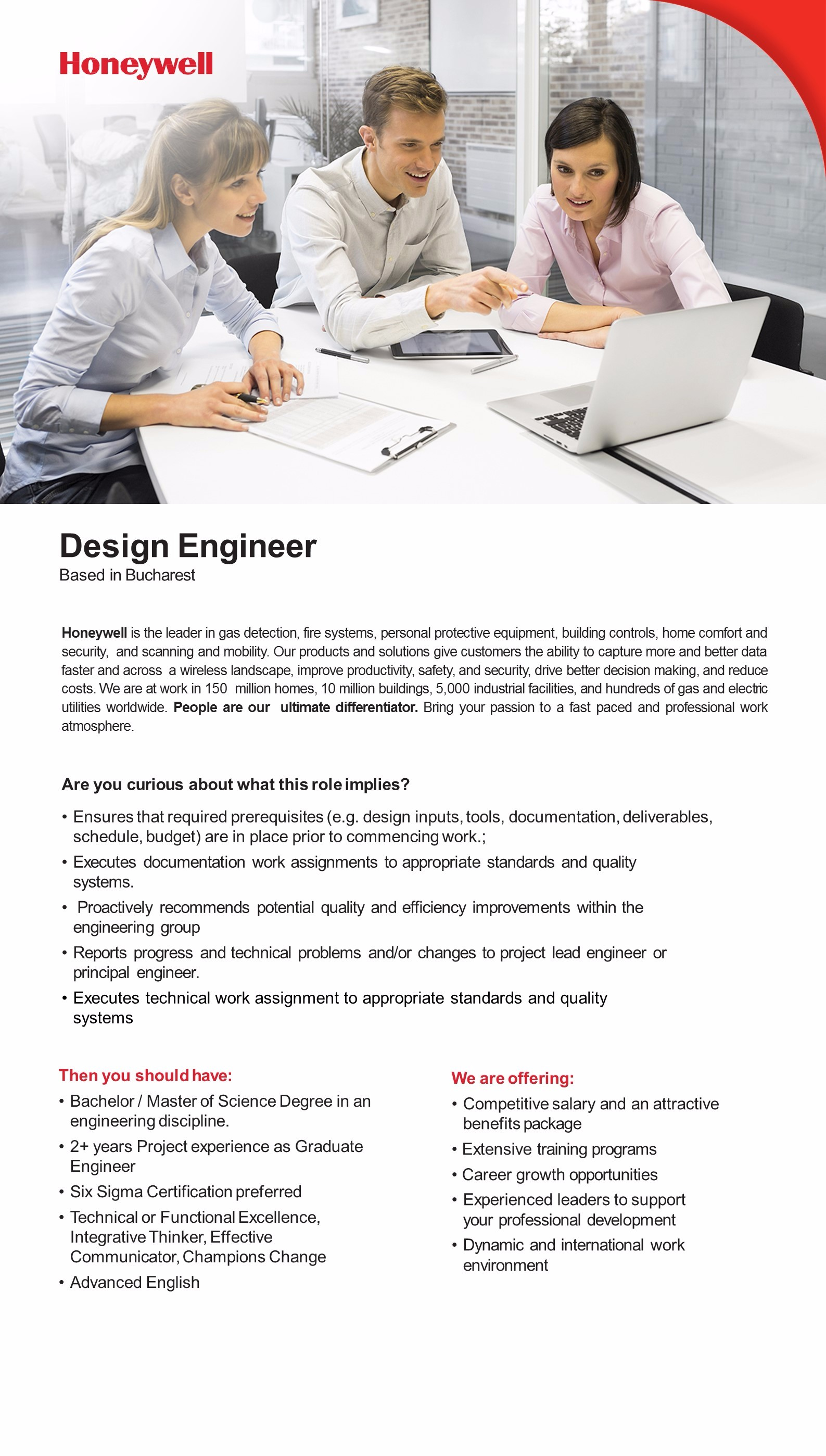 Design Engineer JD