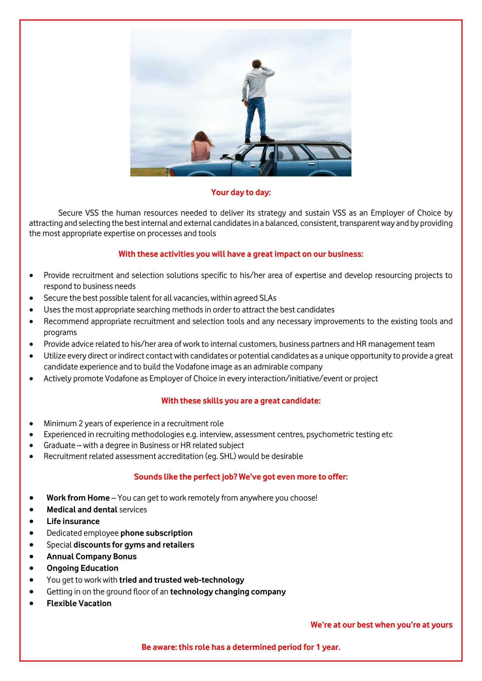 Resourcing Consultant