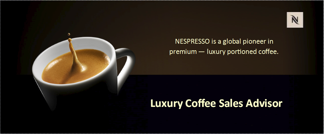 Nespresso job header