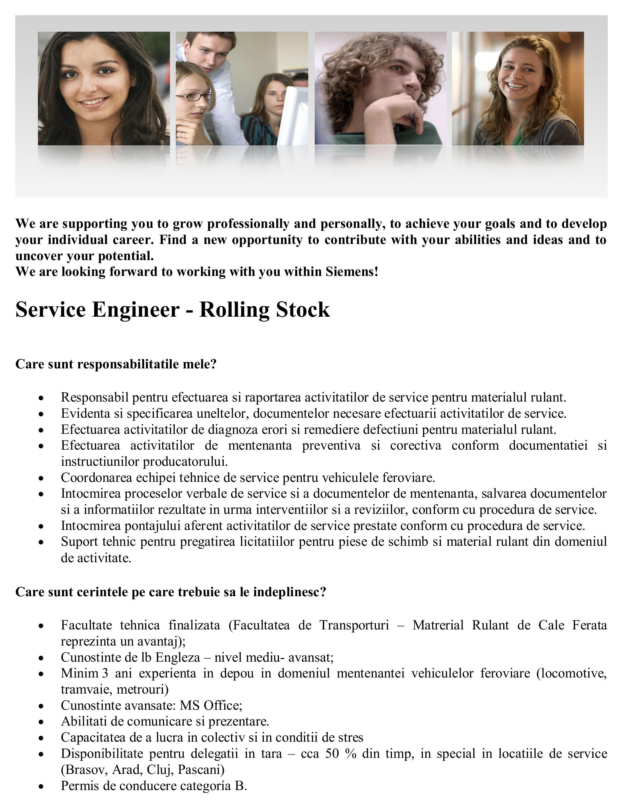 Service Engineer - Rolling