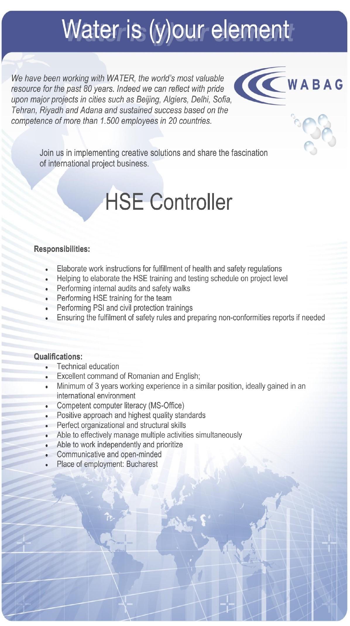 201709_Inspector HSE