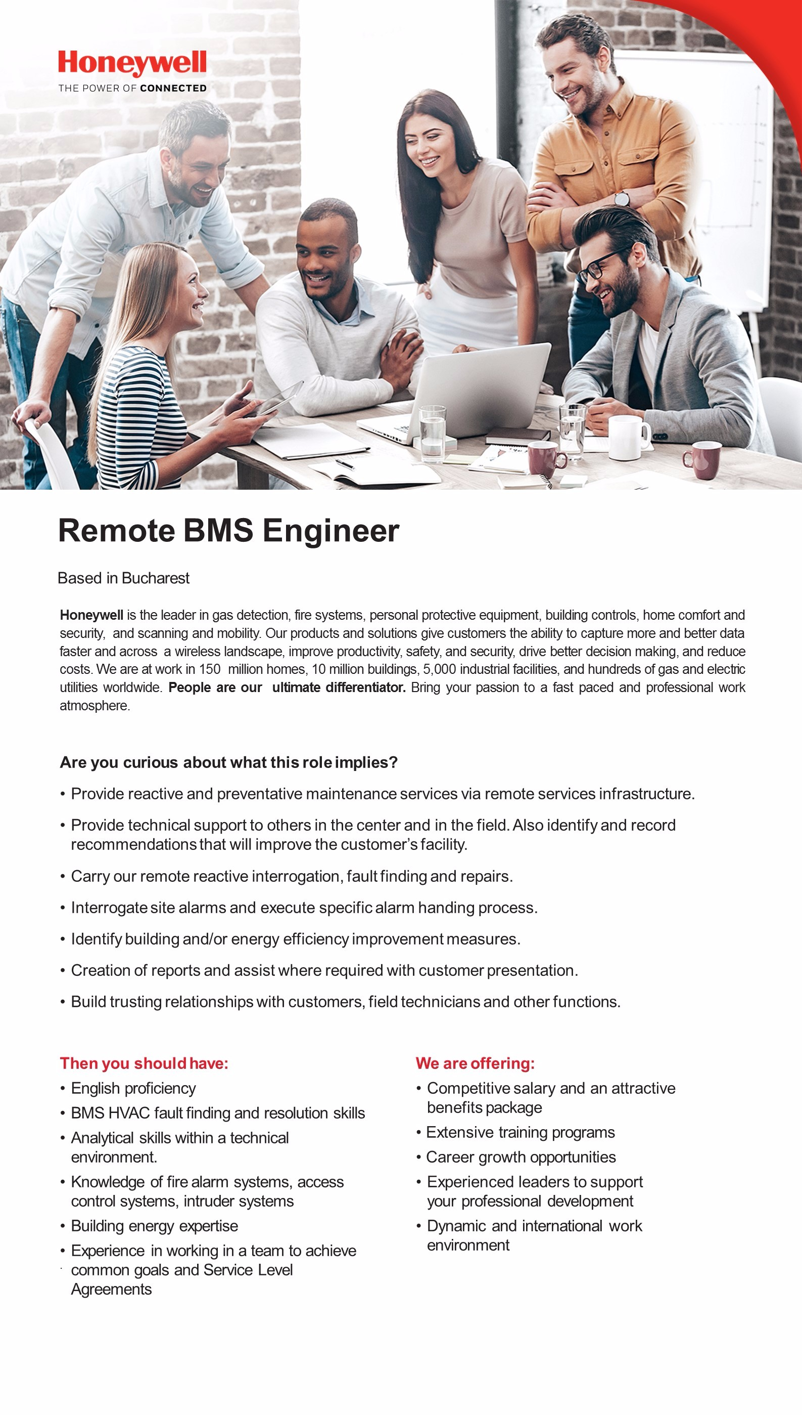 Remote BMS Engineer