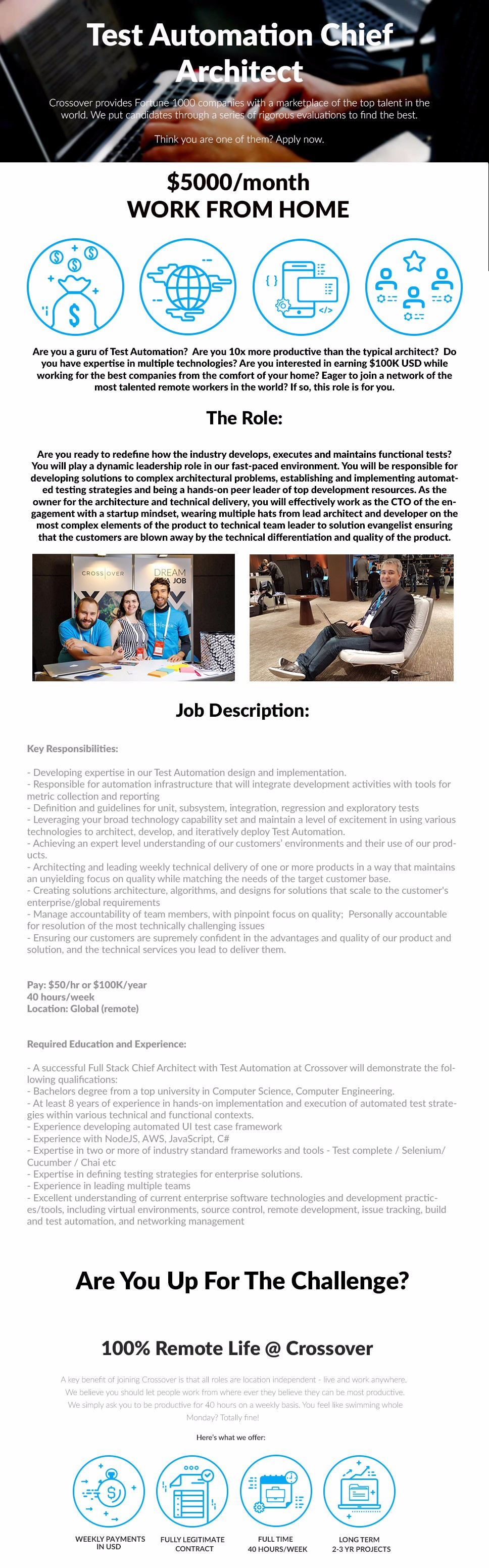 2126 -Test Automation Chief Architect