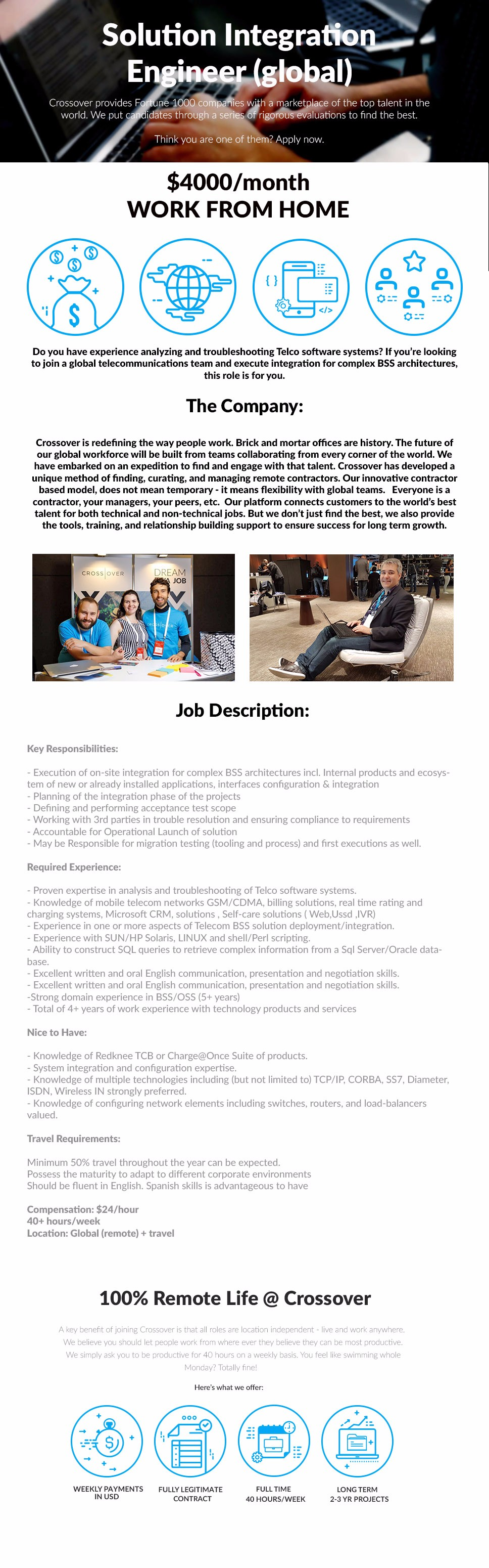 2980 -Senior Solution Integration Engineer (global)