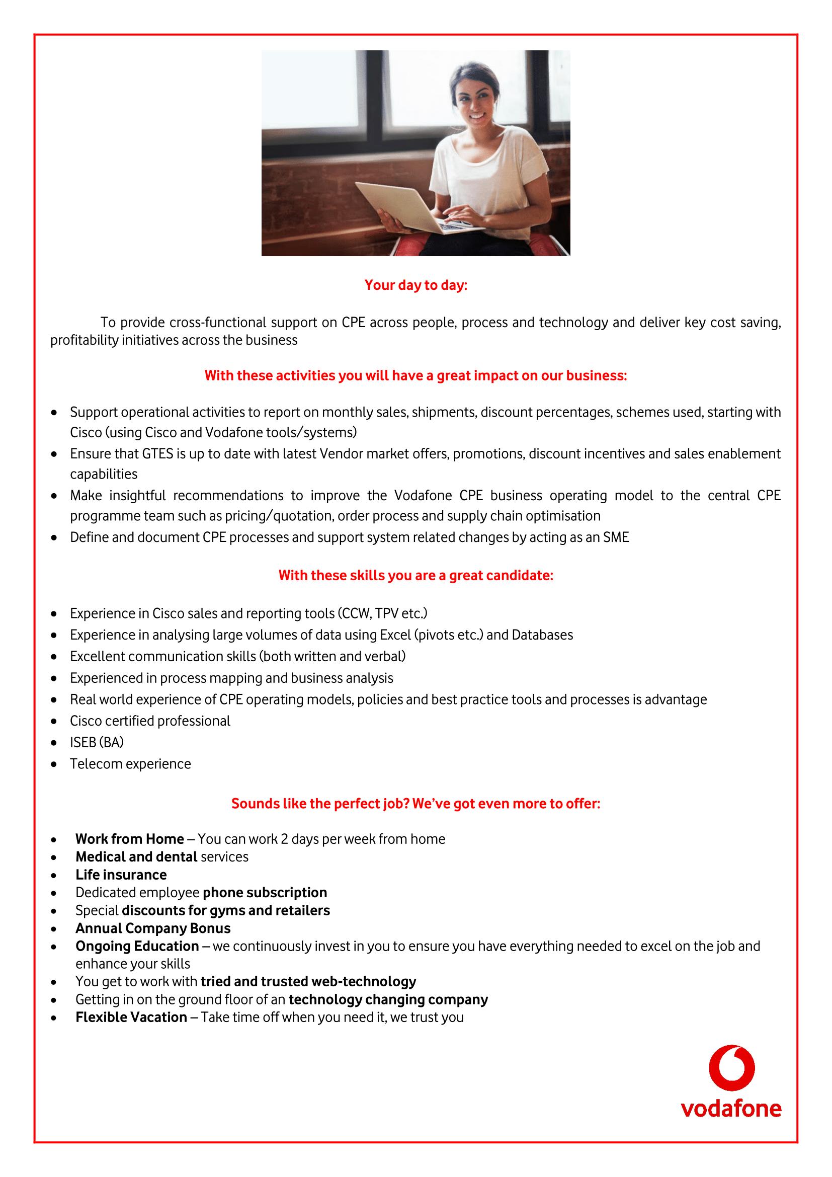 Customer Premise Equipment Specialist-1