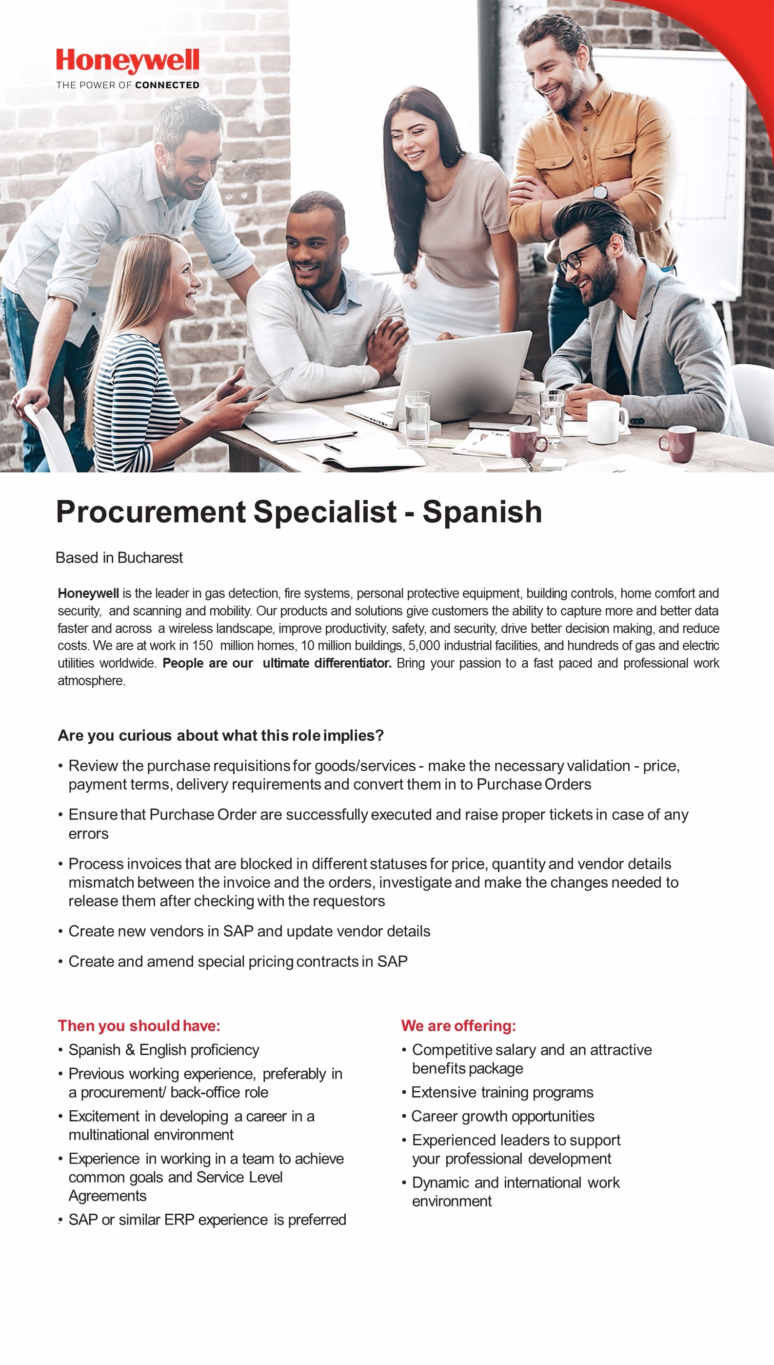 Procurement Specialist - Spanish