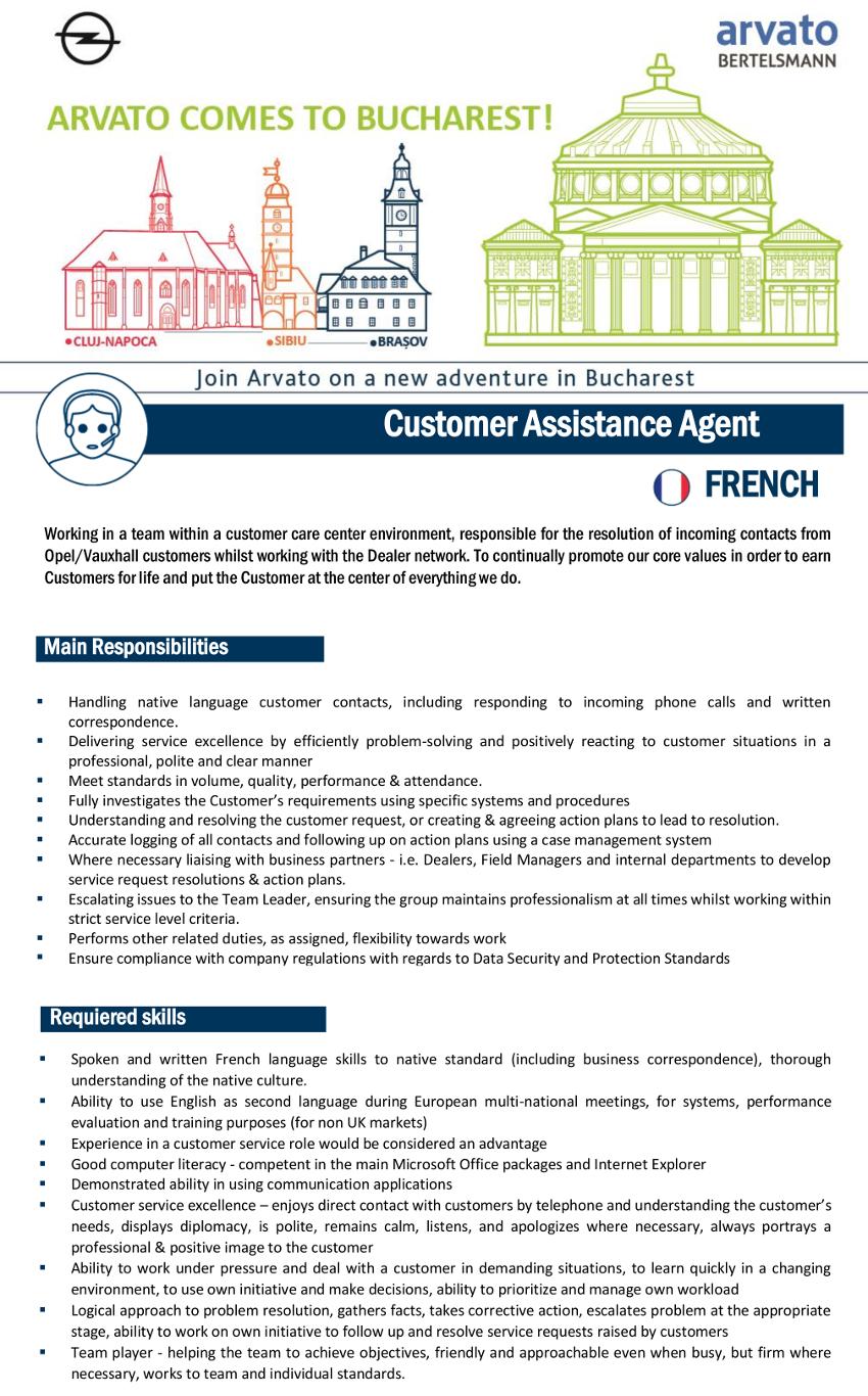 Job Advertisement CAC French_extern