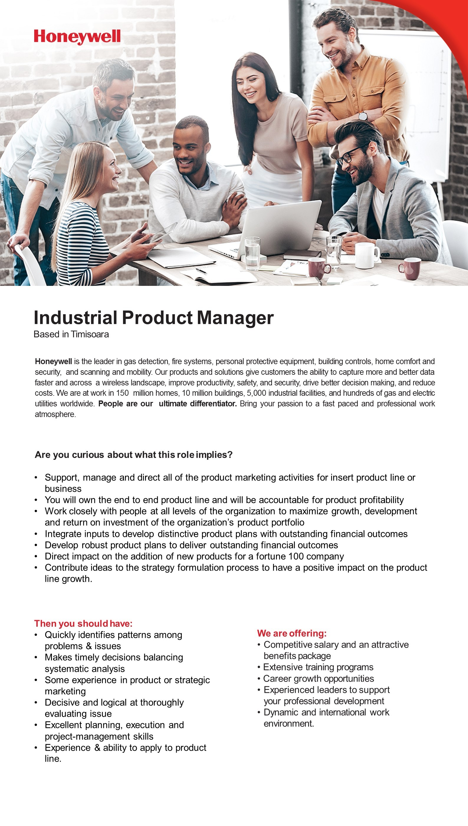 Industrial Product Manager