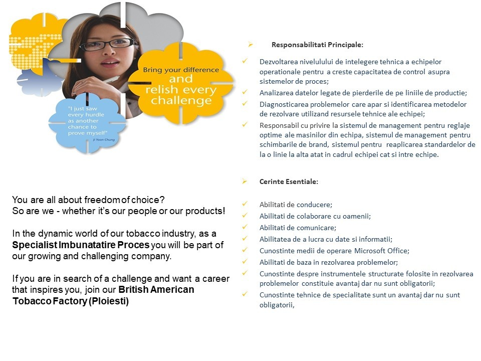 Anunt Specialist Proces