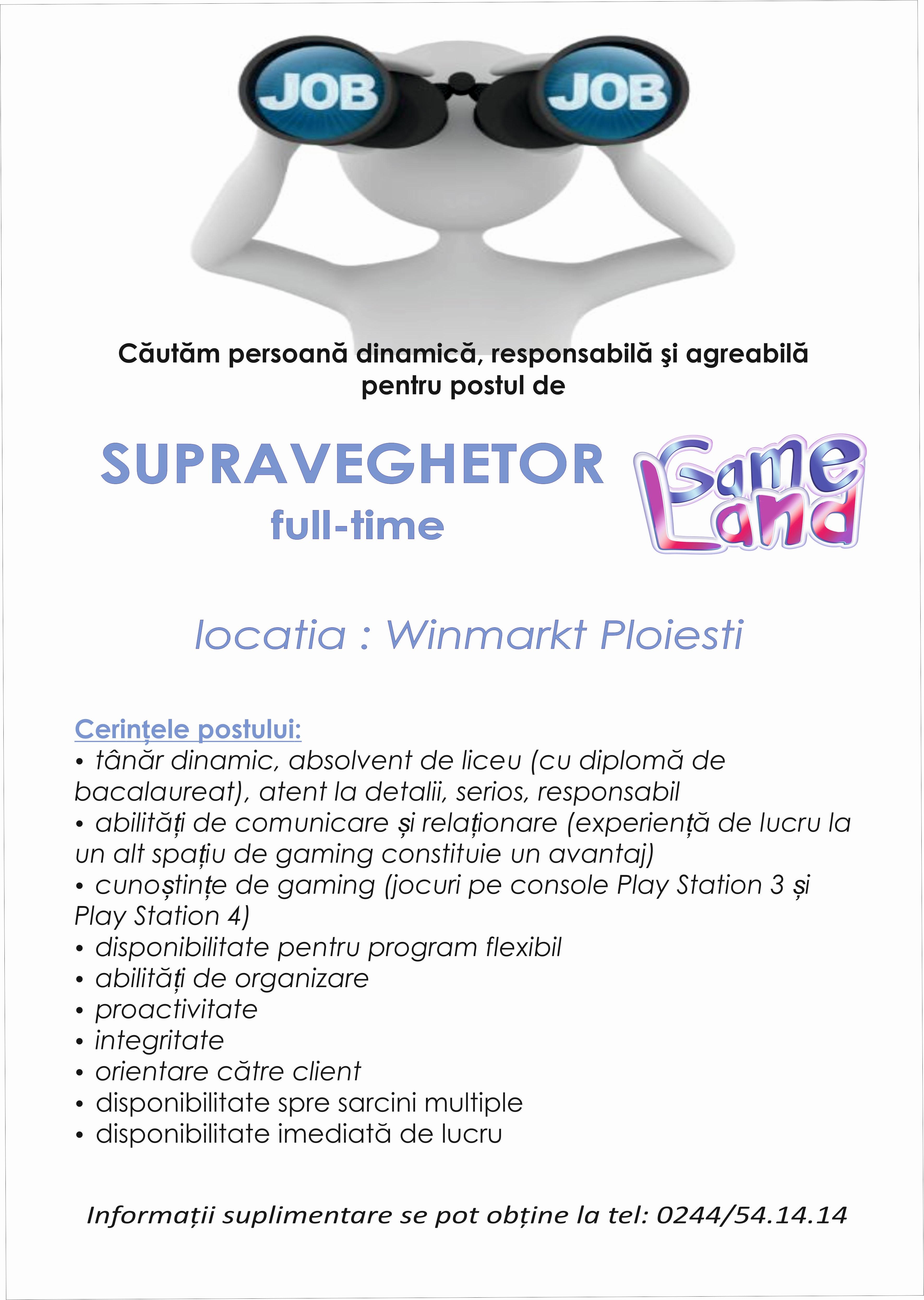 angajare Gameland5