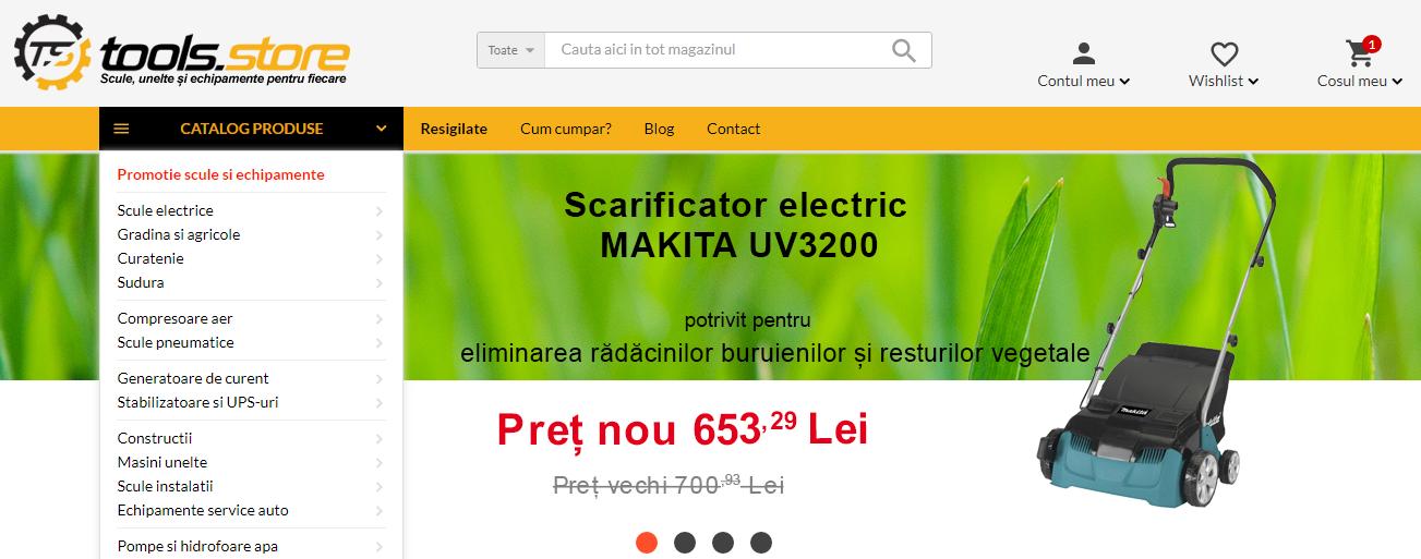 Magazin online Tools Store