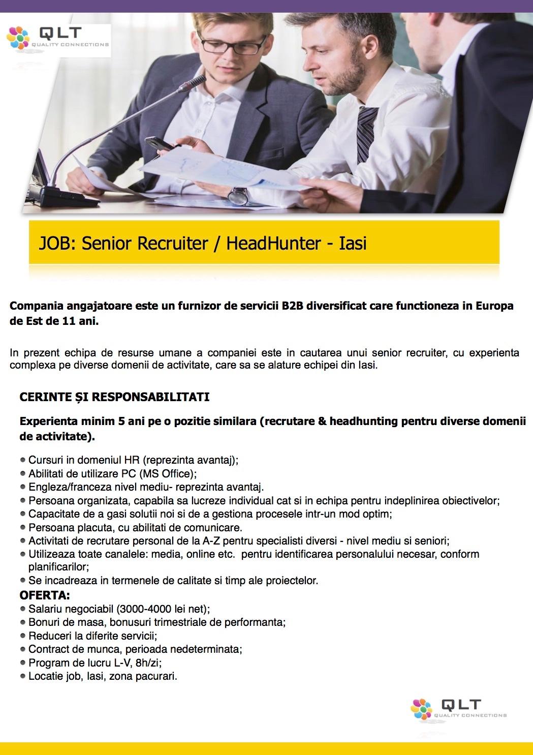Senior Recruiter (f)