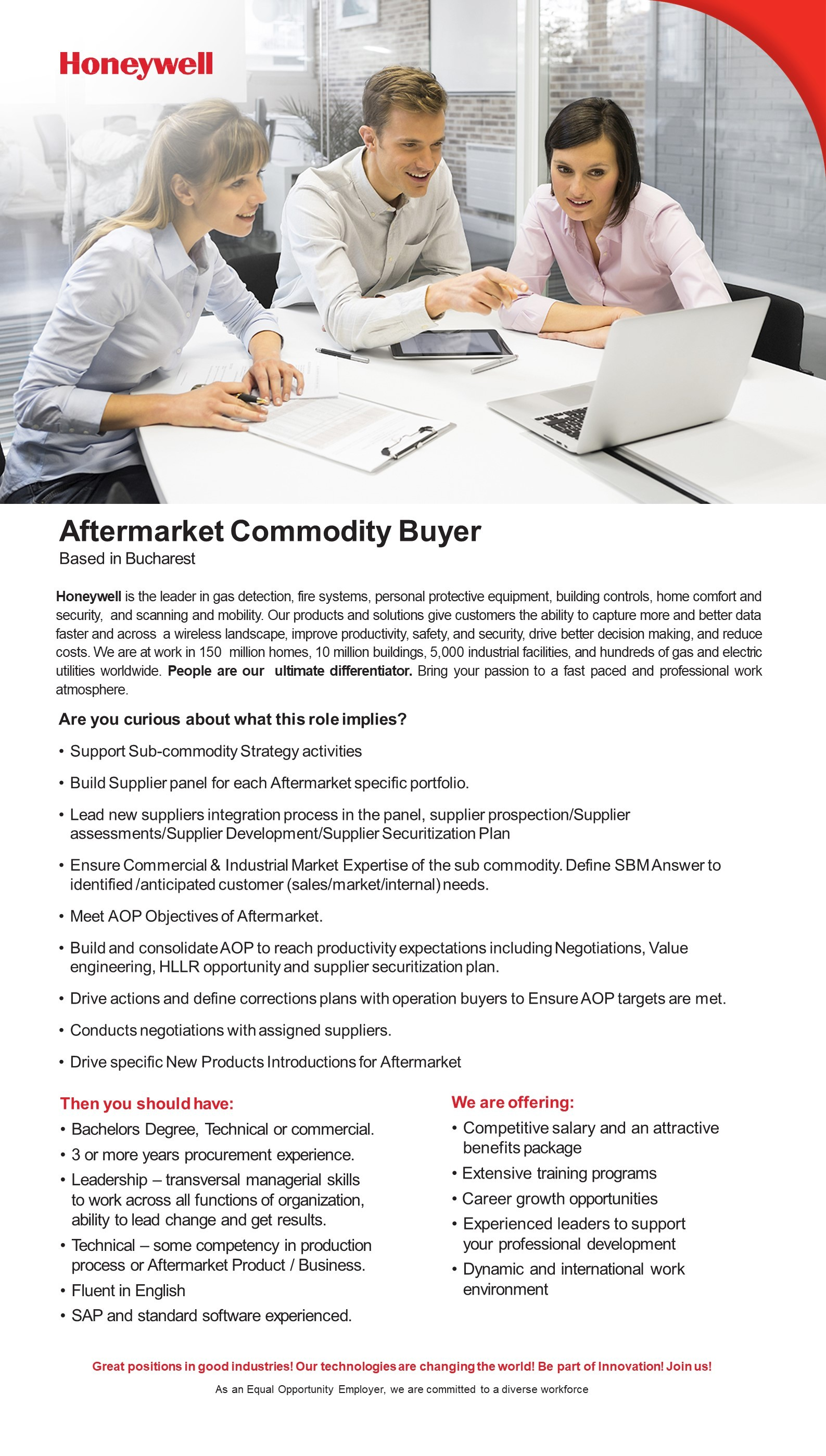 Aftermarket Commodity Buyer