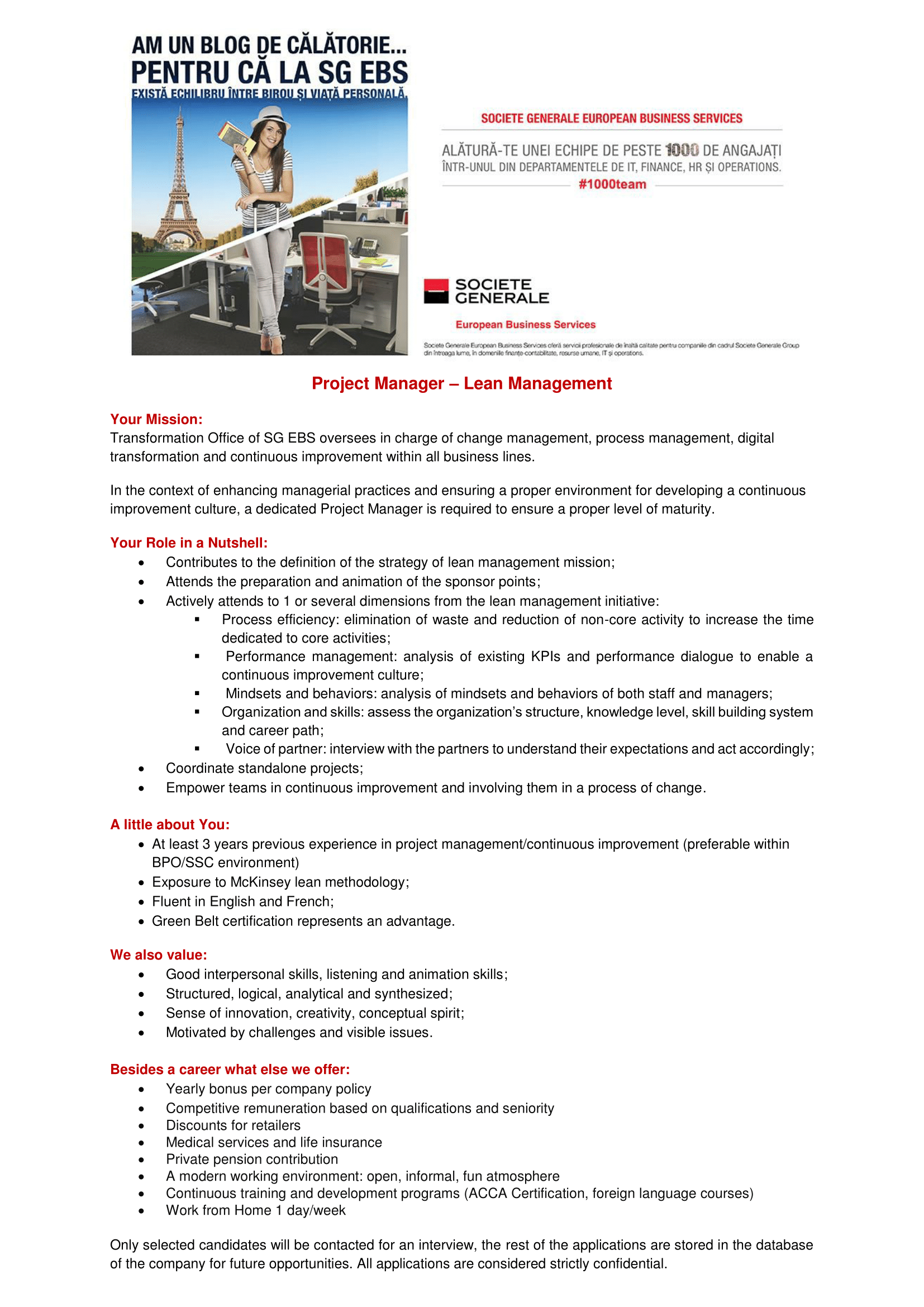 Project Manager - Lean Managementsite EBS - site-uri recrutare-1