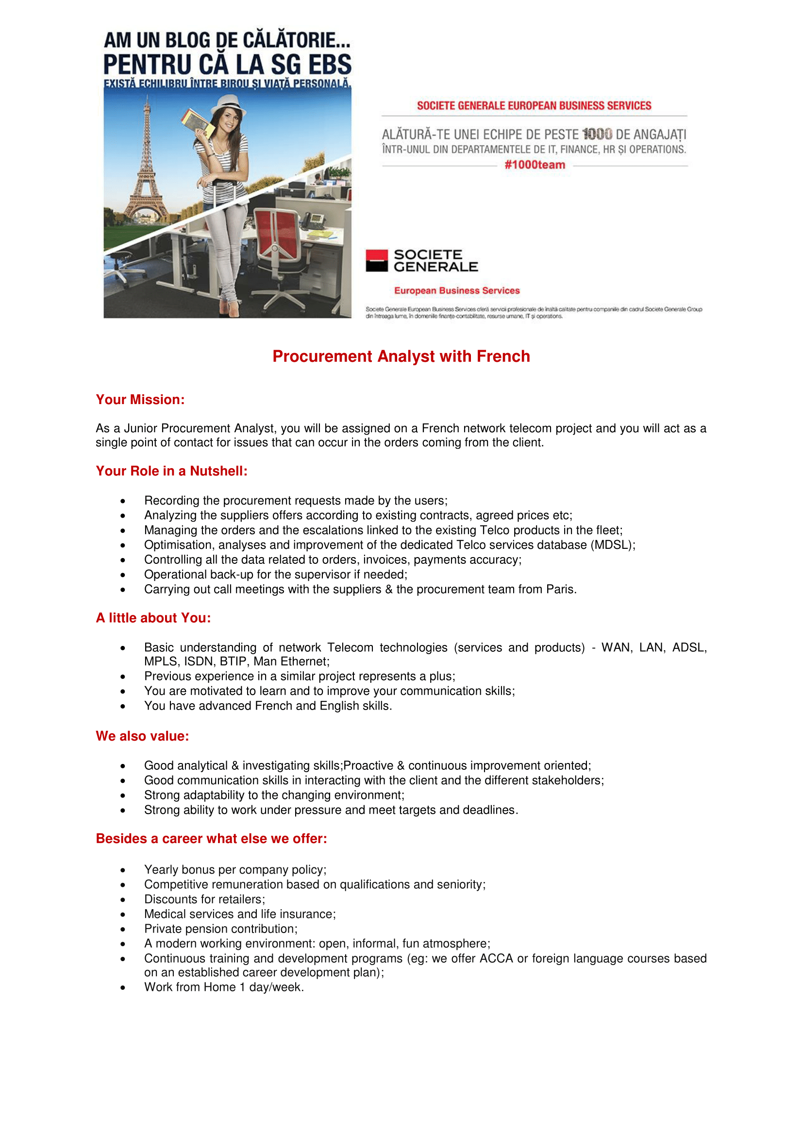 ProcurementAnalyst with French - Telecom Project-1