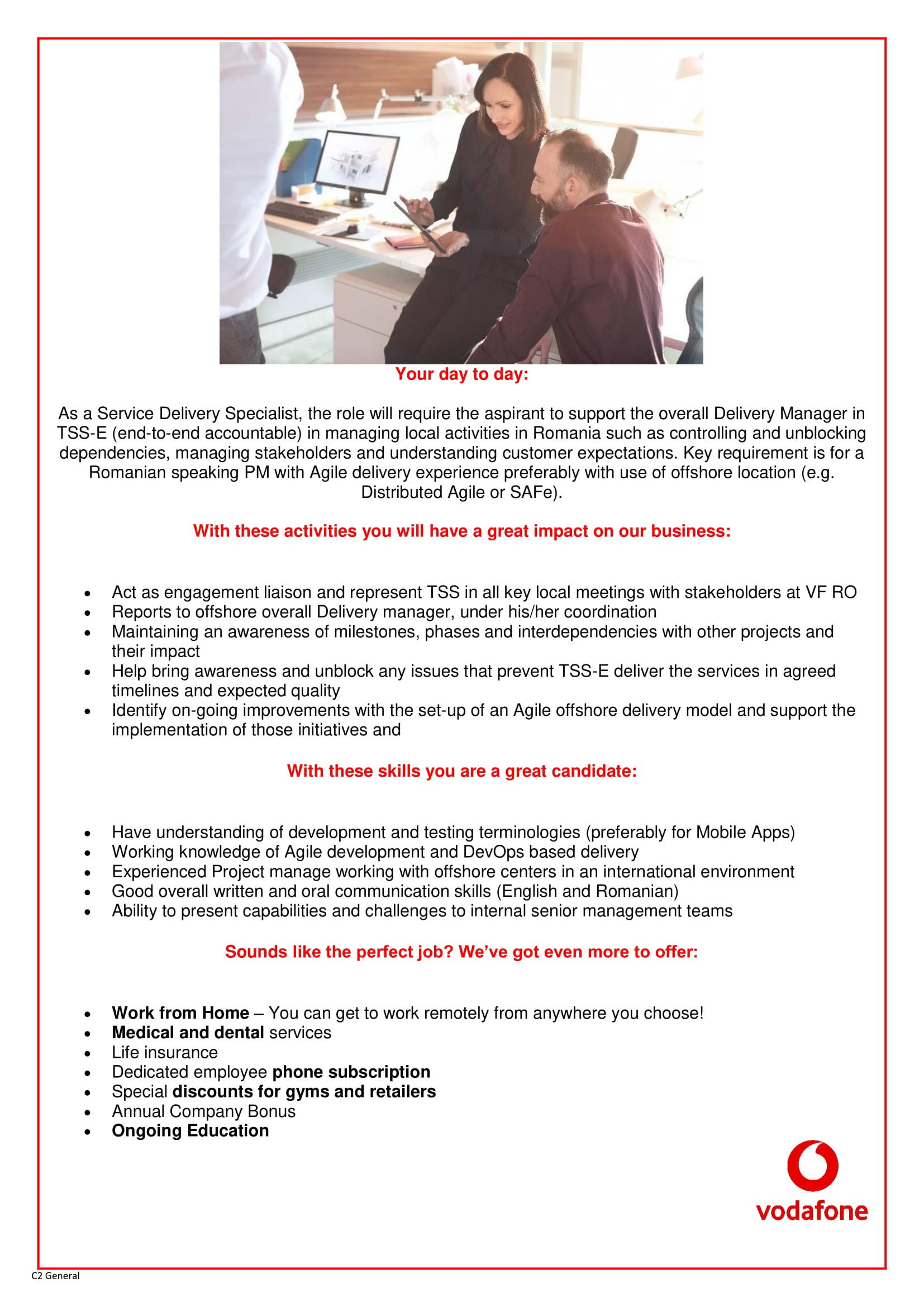 Service Delivery Specialist
